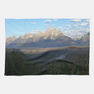 Jackson Hole Mountains (Grand Teton National Park) Kitchen Towel