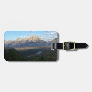 Jackson Hole Mountains (Grand Teton National Park) Luggage Tag