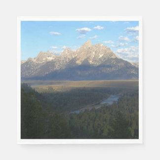 Jackson Hole Mountains (Grand Teton National Park) Napkin