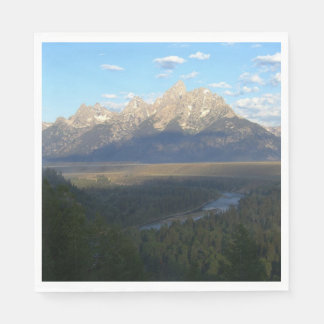 Jackson Hole Mountains (Grand Teton National Park) Paper Napkins
