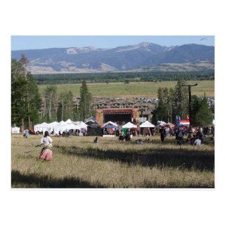 Jackson Hole Music Festival 2009 Postcard