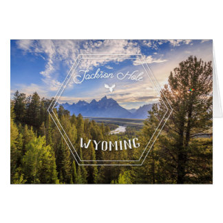 Jackson Hole Series 01 Greeting Card