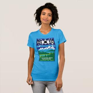 Jackson Hole Solar Eclipse Tshirt