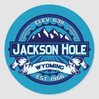 Jackson Hole Stickers Ice