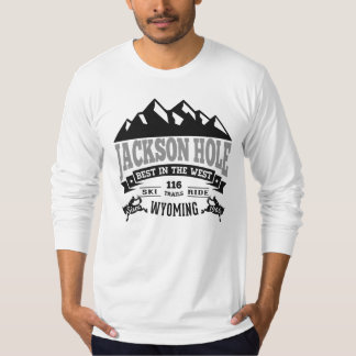 Jackson Hole Vintage Silver T-Shirt