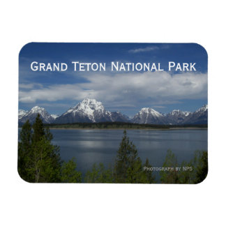 Jackson Lake, Grand Teton Magnet