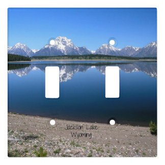 Jackson Lake, Wyoming Light Switch Cover