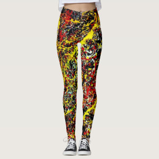 Jackson Love Paint Art Leggings