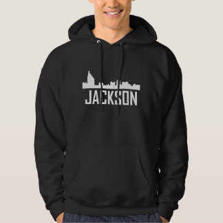Jackson Mississippi City Skyline Hoodie