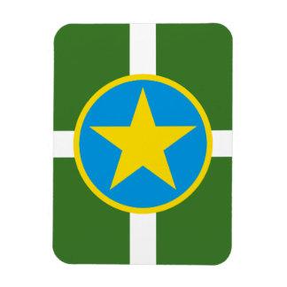 Jackson Mississippi Flag Magnet