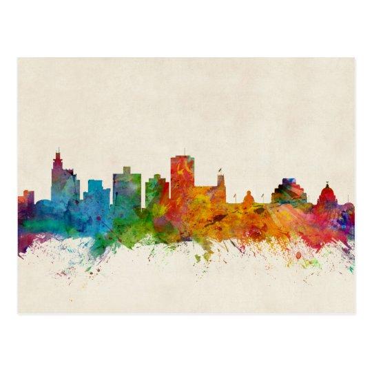 Jackson Mississippi Skyline Postcard