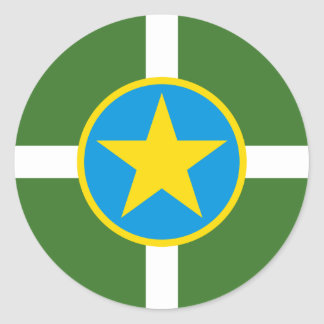 Jackson, Mississippi, United States Classic Round Sticker