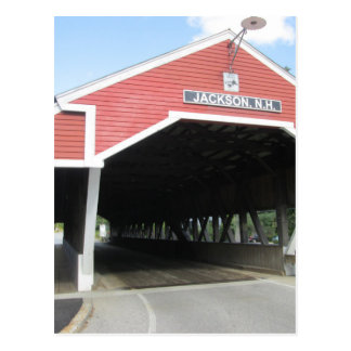Jackson NH Covered Bridge Postcard