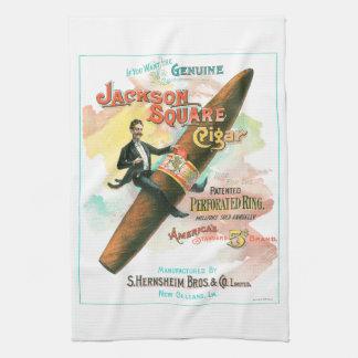 Jackson Square Cigar Kitchen Towels
