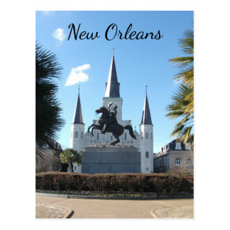 Jackson Square, French Quarter, New Orleans Postcard