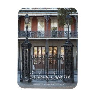 Jackson Square Gate, New Orleans, French Quarter Magnet