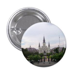 Jackson Square, New Orleans 1 Inch Round Button