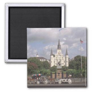Jackson Square New Orleans Magnet