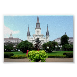 Jackson Square, New Orleans Poster