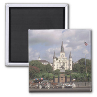 Jackson Square New Orleans Square Magnet