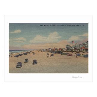 Jacksonville Beach, FL - The world's Widest Ocea Postcard