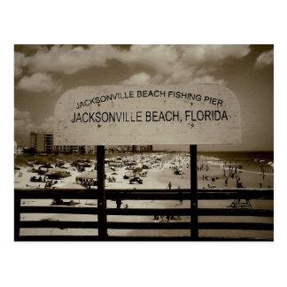 Jacksonville Beach, Florida Postcard
