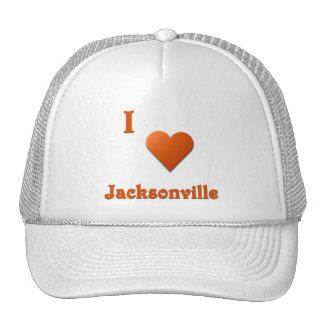 Jacksonville -- Burnt Orange Mesh Hats