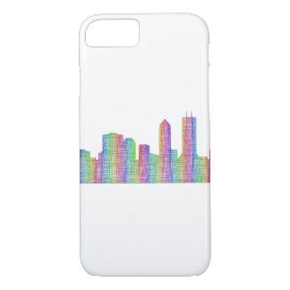 Jacksonville city skyline iPhone 8/7 case