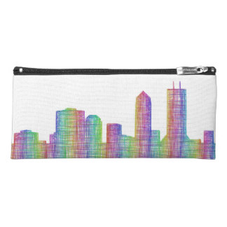 Jacksonville city skyline pencil case