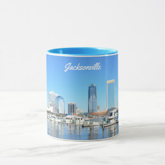 Jacksonville Cityscape, Florida Mug