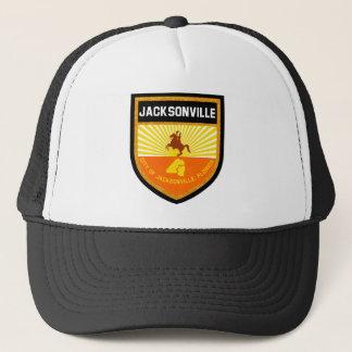 Jacksonville  Flag Trucker Hat