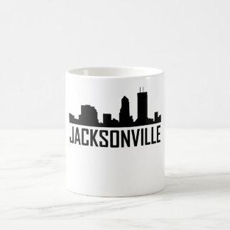 Jacksonville Florida City Skyline Coffee Mug