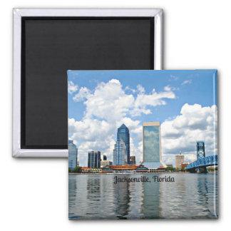 Jacksonville, Florida cityscape Magnet