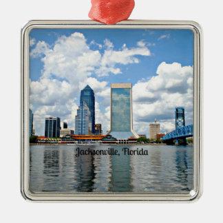 Jacksonville, Florida cityscape Metal Ornament