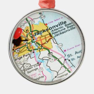 Jacksonville, Florida Metal Ornament