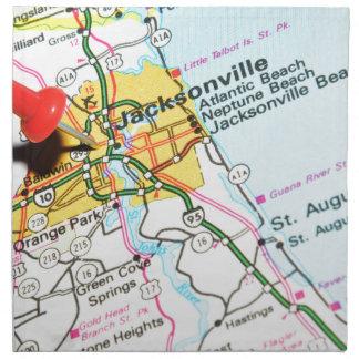 Jacksonville, Florida Napkin
