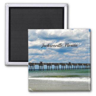 Jacksonville, Florida Pier Magnet