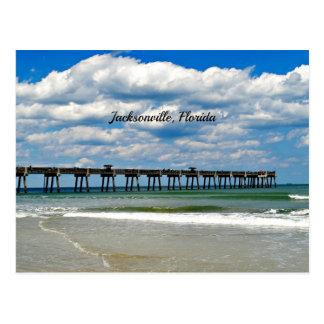 Jacksonville, Florida Pier Postcard