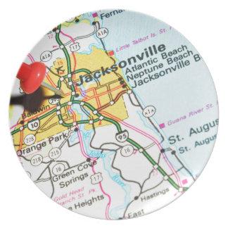Jacksonville, Florida Plate