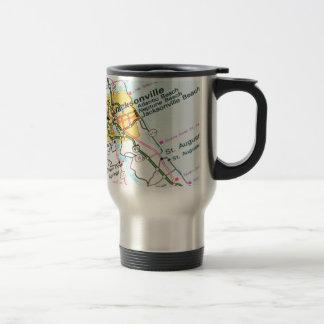 Jacksonville, Florida Travel Mug