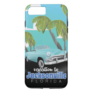 Jacksonville, Florida,USA vintage travel poster. iPhone 7 Plus Case