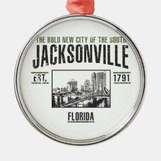 Jacksonville Metal Ornament