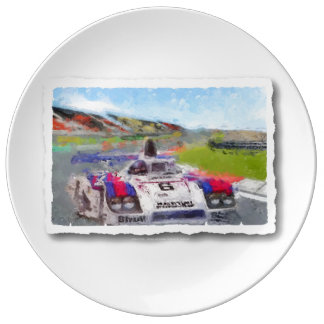 JACKY's 936 - Digitally Artwork Jean Louis Glineur Porcelain Plate