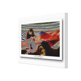 JACKY's MONOPOSTO 1972 variant II Canvas Print