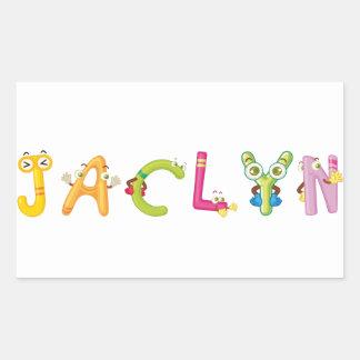 Jaclyn Sticker