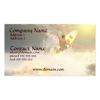 Jaco Surfer Business Card