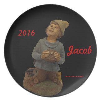 JACOB-2016 GIFT FOR MOTHER MELAMINE PLATE