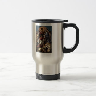 Jacob Jordaens- St. Charles Cares Plague Victims Stainless Steel Travel Mug