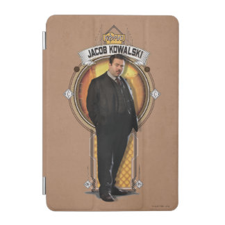 Jacob Kowalski Art Deco Panel iPad Mini Cover