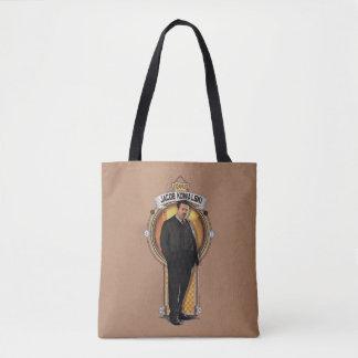 Jacob Kowalski Art Deco Panel Tote Bag